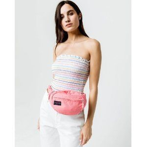 JANSPORT Fifth Avenue Strawberry Pink Fanny Pack